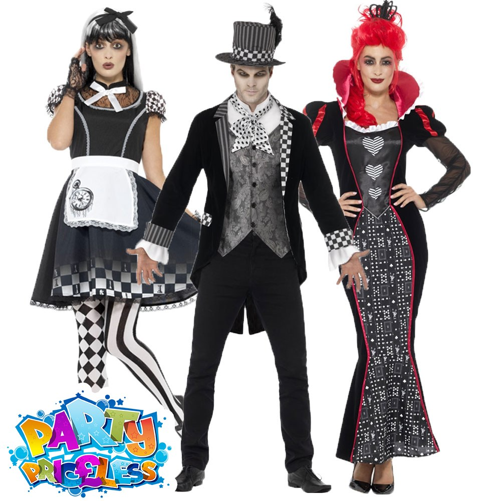 Adult Mens Bad Hatter Costume Alice Wonderland Mad Halloween Fancy Dress Outfit Fancy Dress Period Costumes Entrepreneurship Bt