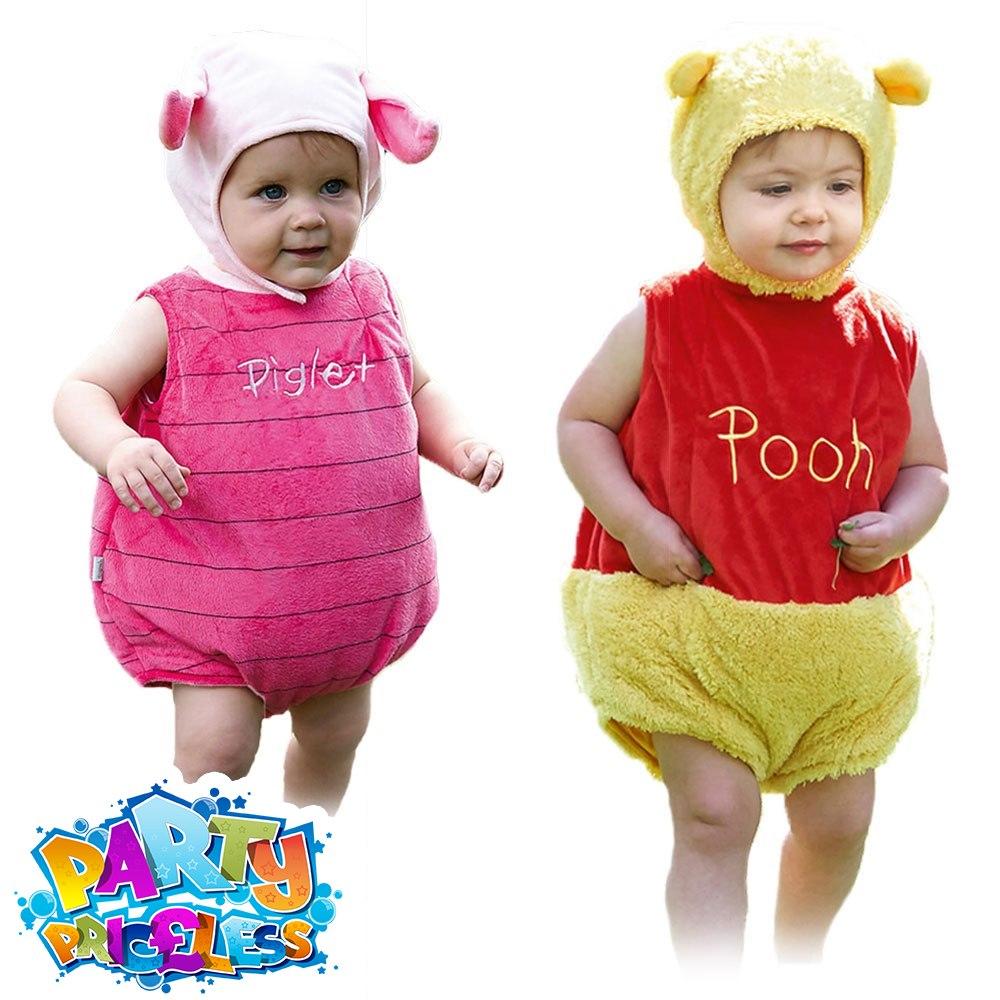 c916253346fd Baby Disney Winnie the Pooh Piglet Fancy Dress Costume Girls Boys Kids  Fancy Dress Outfit by