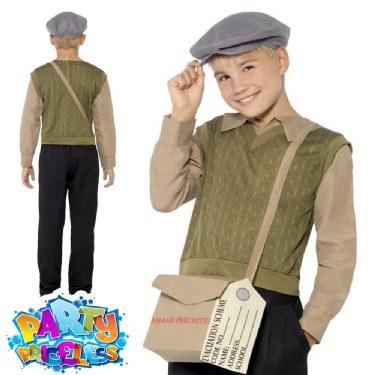 Childs Evacuee Boy Costume