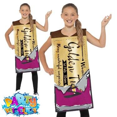 Kids Winning Wonka Bar Outfit