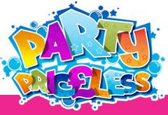 Party Priceless logo